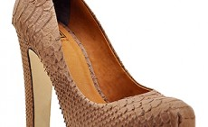 Beautiful Natural Reptile Skin Pumps